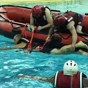 Bryan L Water Rescue Training